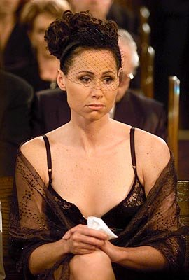 Minnie Driver as Lorraine Finster on NBC's Will and Grace