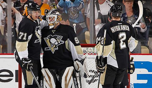 Pittsburgh Penguins squeaked by the New York Islanders in first round of 2013 playoffs