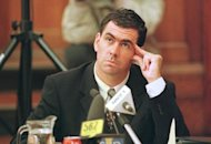 Sacked South African cricket captain Hansie Cronje pictured during his cross-examination at the King Commission of Inquiry into allegations of cricket match-fixing in Cape Town, June 2000. When Cronje died in an air crash 10 years ago, cricket lost an inspirational leader and the sport's most high-profile self-confessed cheat