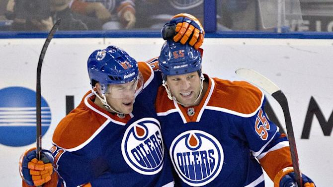 Oilers win 4th straight, 5-3 over Rangers