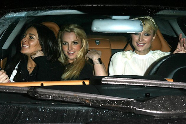 Britney Spears, Lindsay Lohan, Paris Hilton
