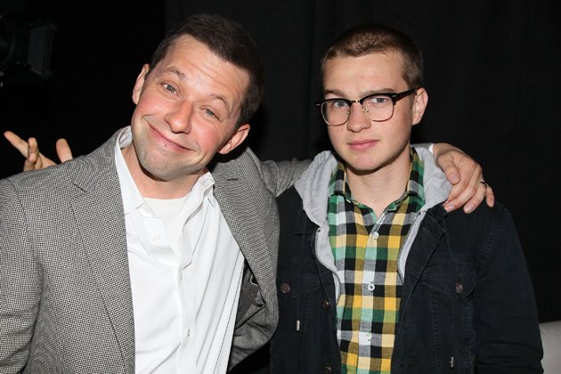 Jon Cryer and Angus T. Jones
