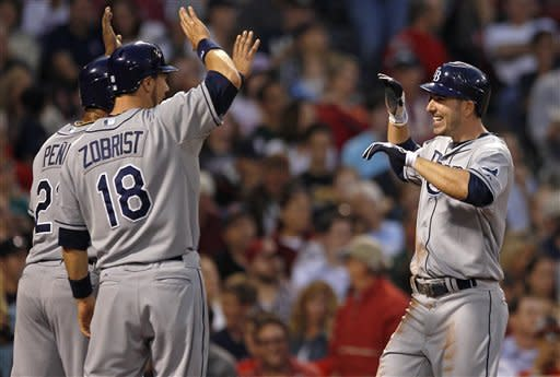 Joyce's slam carries Rays past Red Sox, 7-4