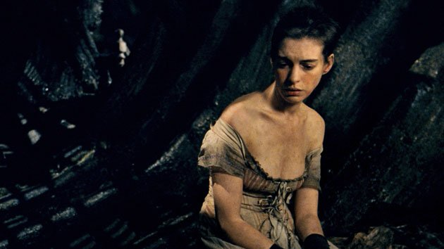 Anne Hathaway in 'Les Mis&#xE9;rables' 
