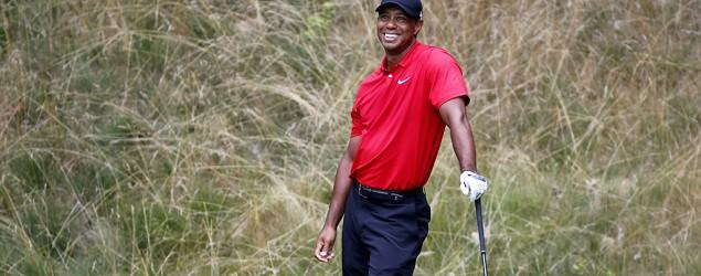 Sign that Tiger Woods could again win a major