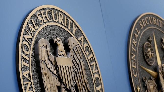 """FILE - This Thursday, June 6, 2013, file photo, shows a sign outside the National Security Administration (NSA) campus in Fort Meade, Md. The latest study of the the bipartisan Privacy and Civil Liberties Oversight Board takes the opposite view of a different set of National Security Agency surveillance programs revealed last year by former NSA systems administrator Edward Snowden. The board which was to vote on the report on Wednesday, July 2, 2014, found that the NSA's collection of Internet data within the United States passes constitutional muster and employs """"reasonable"""" safeguards designed to protect the rights of Americans. Last January, the first time the board dissected an NSA surveillance program, it found fundamental flaws. (AP Photo/Patrick Semansky, File)"""