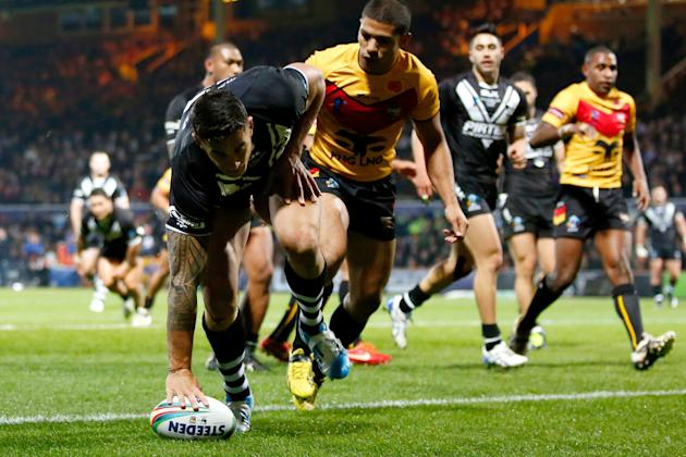 New Zealand v Papua New Guinea - Rugby League World Cup: Group B