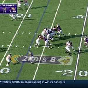 Week 4: Minnesota Vikings quarterback Teddy Bridgewater highlights