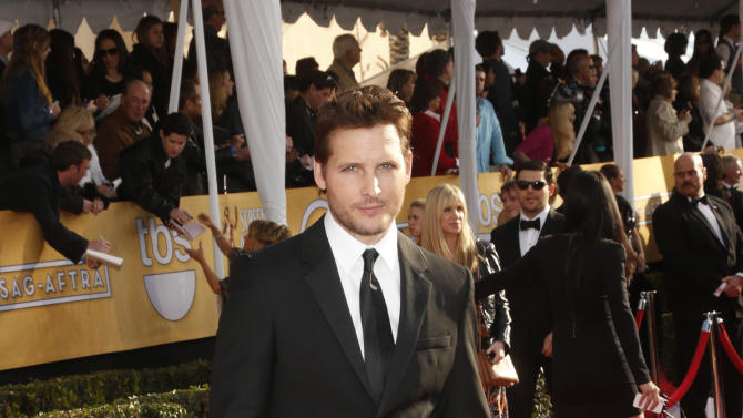 Peter Facinelli arrives at the 19th Annual Screen Actors Guild Awards at the Shrine Auditorium in Los Angeles on Sunday Jan. 27, 2013. (Photo by Todd Williamson/Invision for The Hollywood Reporter/AP Images)