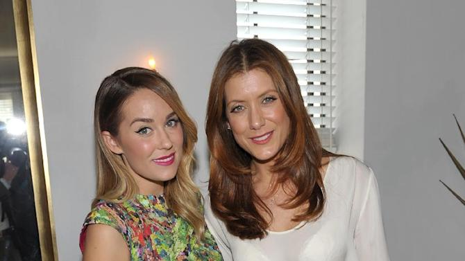 IMAGE DISTRIBUTED FOR THR - From left, Lauren Conrad and Kate Walsh are seen at the The Hollywood Reporter's Beauty Luncheon held at the Chateau Marmont on Wednesday Nov. 14, 2012 in Los Angeles. (Photo by John Shearer/Invision for THR/AP Images)