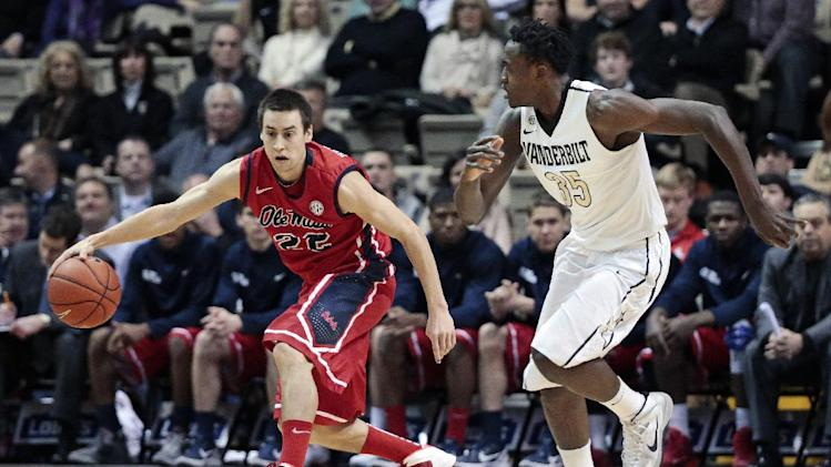Summers scores 16 as Ole Miss beats Vandy 63-52