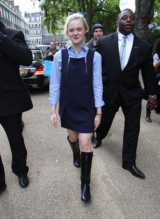 Celebrity Sightings At LFW SS2013 In London - September 16th, 2012