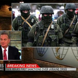 U.S. issues executive order over Ukraine crisis
