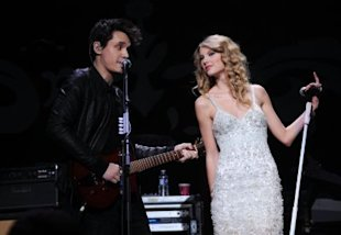 Taylor Swift and John Mayer air it all out. (Theo Wargo/Wire Image)