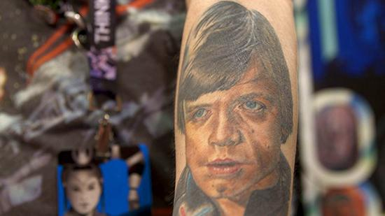 Force in the Flesh: Getting Inked at Star Wars Celebration