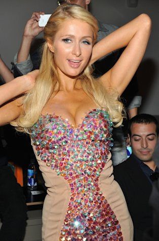 Paris Hilton attends the The Blonds show during Spring 2013 Mercedes-Benz Fashion Week at Milk Studios in New York City on September 11, 2012 -- Getty Premium