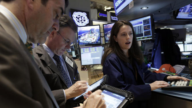 Stock market rises back into record territory