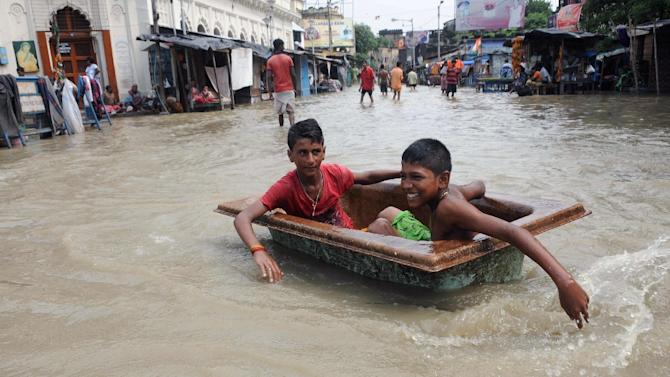 Monsoon rains have hit large swathes of India and neighbouring countries in recent weeks, flooding rivers and roads