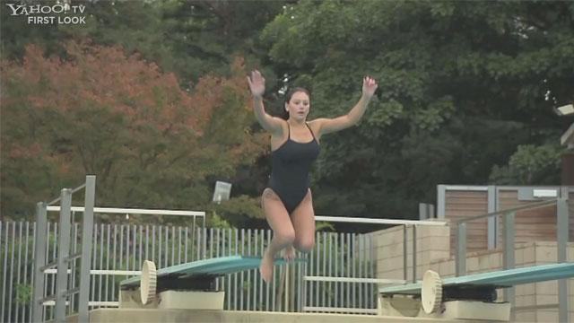 Exclusive: JWoww Learns to 'High Dive'