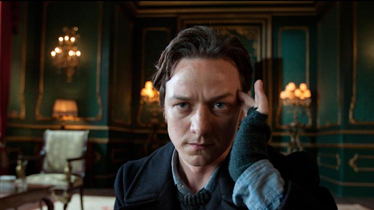 "In this film publicity image provided by 20th Century Fox, James McAvoy portrays Charles Xavier in a scene from ""X-Men: First Class."" The ""X-Men"" franchise will get another boost in 2016 with the release of ""X-Men: Apocalypse."" (AP Photo/20th Century Fox, Murray Close)"