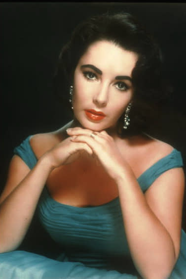 Another classic Elizabeth Taylor look