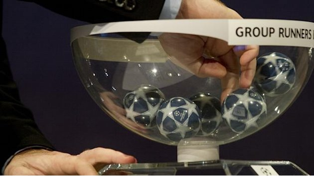 Champions League draw: LIVE