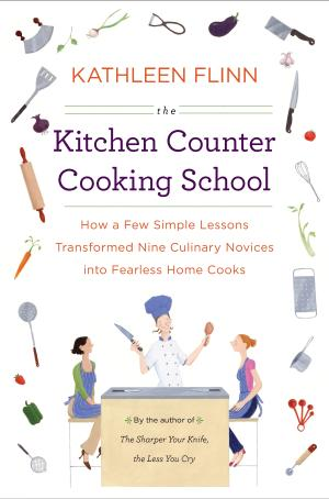 "In this book cover image released by Viking, ""The Kitchen Counter Cooking School,"" by Kathleen Flinn, is shown. (AP Photo/Viking)"