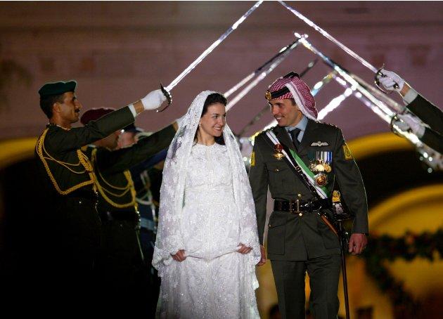 Pangeran Hamzeh dan Putri Noor dari Yordania.