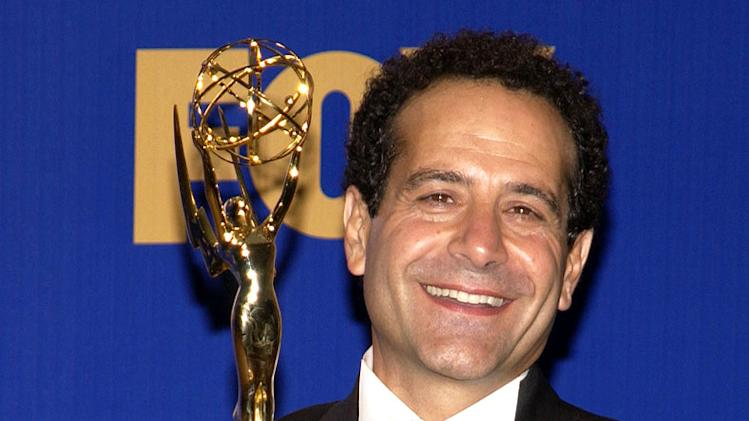 "Tony Shalhoub, winner fof Outstanding Lead Actor in a Comedy Series, ""Monk"" at The 55th Annual Primetime Emmy Awards."