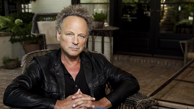 """In this Aug. 25, 2011 photo, musician Lindsey Buckingham poses for a portrait in Los Angeles. Buckingham's new album, """"Seeds We Sow"""", will be released Sept. 6.  (AP Photo/Matt Sayles)"""
