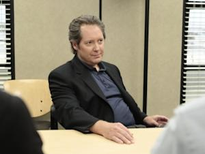 "James Spader as Robert California on the season finale of ""The Office,"" 2011 -- NBC"
