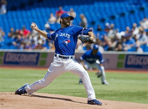 Morrow pitches 3-hitter, Blue Jays blank Mets