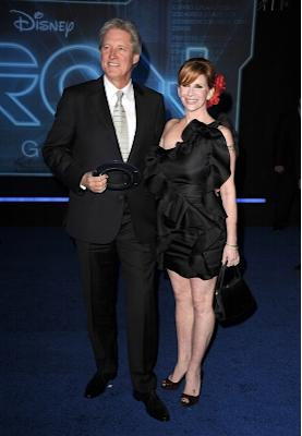 """Bruce Boxleitner and Melissa Gilbert arrives at the premiere of """"TRON Legacy"""" at the El Capitan Theatre, Hollywood, on December 11, 2010 -- WireImage"""