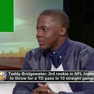 Minnesota Vikings quarterback Teddy Bridgewater grades his rookie season