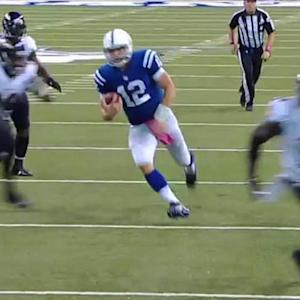 Indianapolis Colts quarterback Andrew Luck: 'Our focus is on Washington'