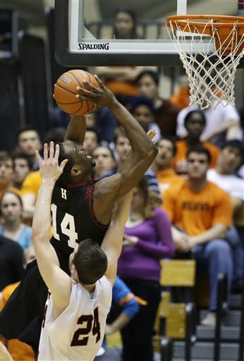 Hummer helps Princeton defeat Harvard 58-53