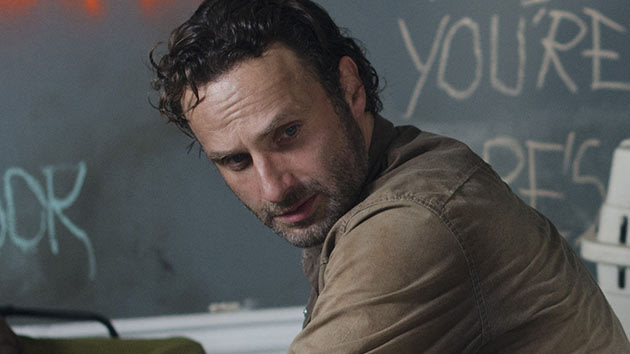 "Rick Grimes (Andrew Lincoln) in ""The Walking Dead"" Season 3 episode, ""Clear."""