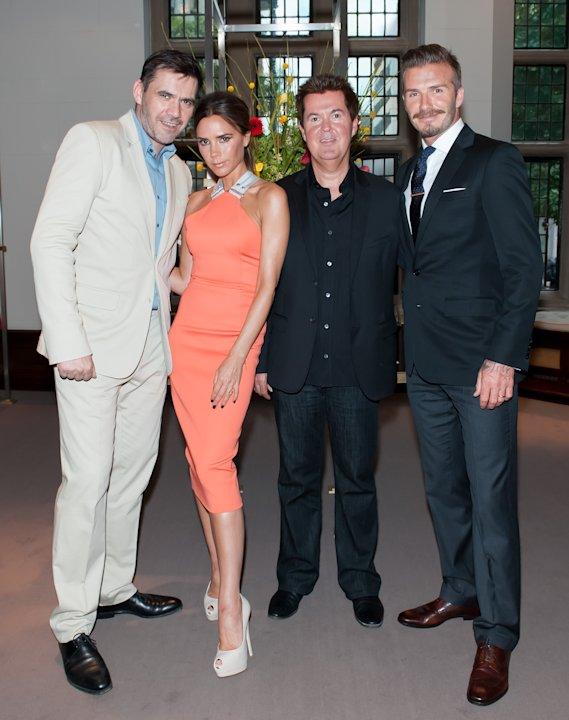Victoria Beckham Repeats Tangerine Dress Worn By Jennifer Lopez and Abbey Clancy