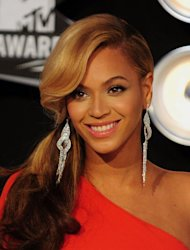 Pop star Beyoncé