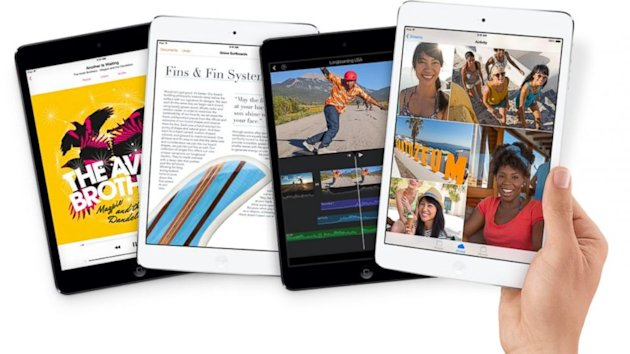 Apple's iPad Mini with Retina Display Available Today (ABC News)