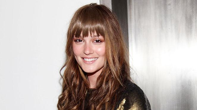 Leighton Meester attends the Erin Wasson + RVCA presentation during Mercedes-Benz Fashion Week at Milk Studios on February 18, 2009 in New York City.