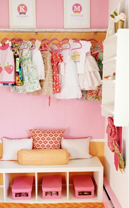 Create an Exposed Closet