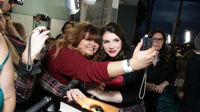 Author Stephenie Meyer at Open Road Films Los Angeles Premiere of 'The Host' held at the ArcLight Hollywood, on Tuesday, March, 19, 2013 in Los Angeles. (Photo by Eric Charbonneau/Invision for Open Road Films/AP Images)
