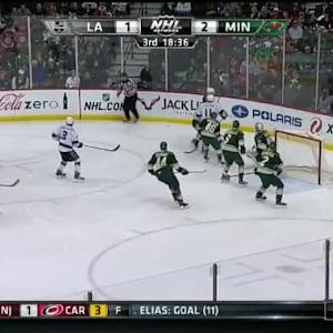 Devan Dubnyk Save on Marian Gaborik (01:23/3rd)