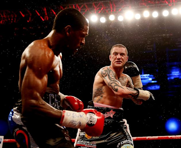 Ricky Burns v Jose Gonzalez - WBO World Lightweight Championship