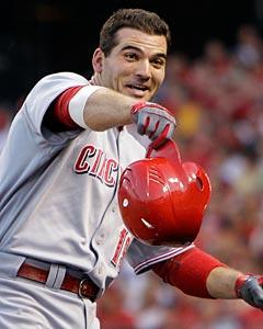 Modest Votto humbled by the voting populace