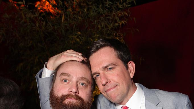 The Hangover Part II LA Premiere 2011 Ed Helms Zach Galifianakis