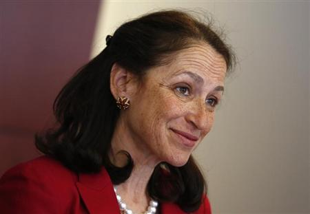 Margaret Hamburg, Commissioner of the U.S. FDA, speaks during the 2013 Reuters Health Summit in New York
