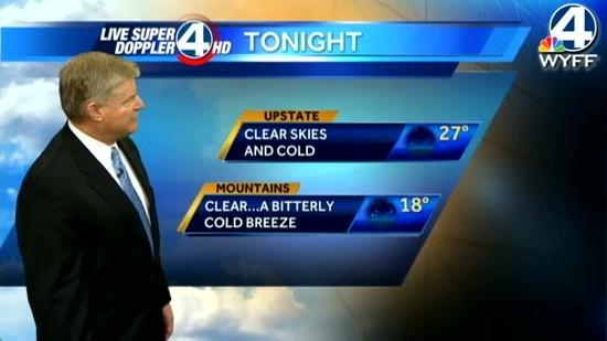 John's forecast for Monday January 21, 2013