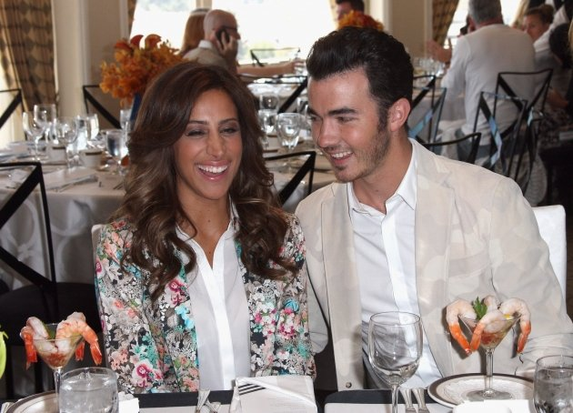 Danielle Jonas and Kevin Jonas attend 'Lunch with E!' during day 5 of the NBCUniversal portion of the 2012 Summer TCA Tour at The Beverly Hilton Hotel, Beverly Hills, on July 25, 2012  -- Getty Images